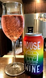 House wine pride can
