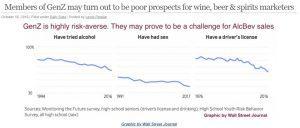 charts showing generation z risk behaviors