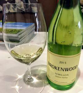 Picture of Brokenwood Semillon wine