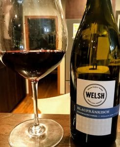Welsh Family Blaufränkisch wine