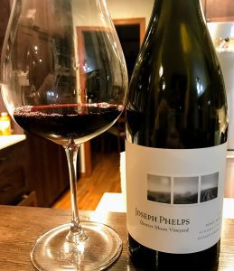 Joseph Phelps Pinot noir wine