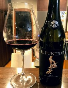 El Puntido Tempranillo from Rioja