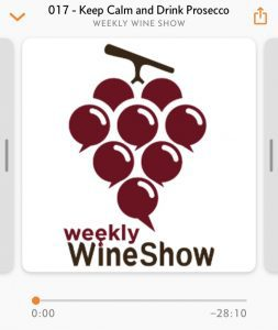 Weekly wine show icon
