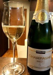 Kirkland brand Champagne