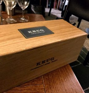 Krug Champagne display box
