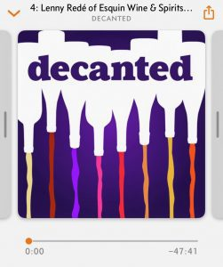 Decanted Podcast screen shot