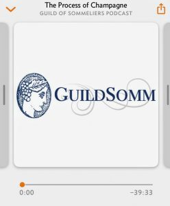Guildsomm podcast screen