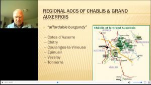 screen shot on chablis from WSG Burgundy course.