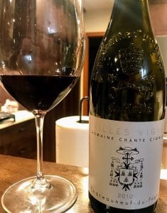 Chante cigale CDP wine