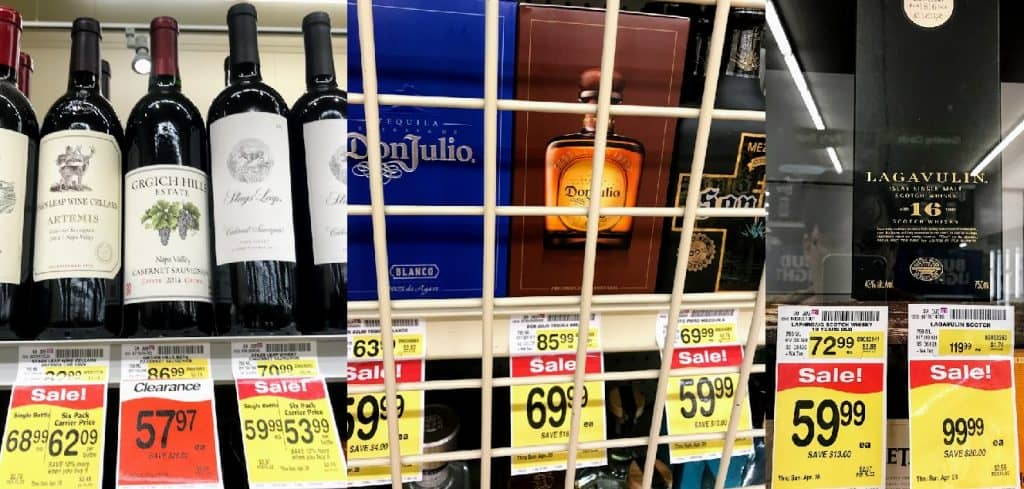 $50 to 100 wine vs spirits
