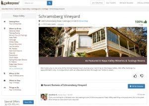 Schramsberg listing