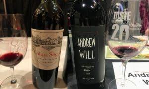 Wine event glasses