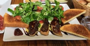 Seared foie gras