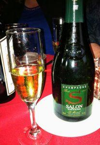 Champagne Salon crappy stemware