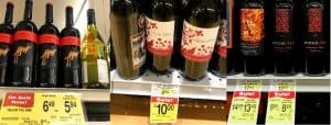 Yellow Tail and other under $10 wines