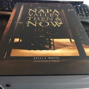 Kelli White's Napa book