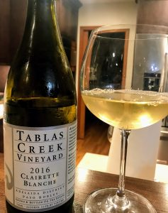 Tablas Creek Clairette blanche