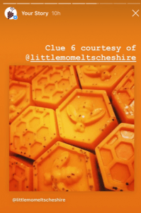 IG mystery grape honey wax clue