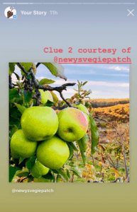 IG Mystery grape clue apple