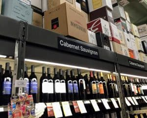 Photo of Cabernet Sauvignon aisle