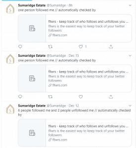 Sumaridge Twitter screenshot