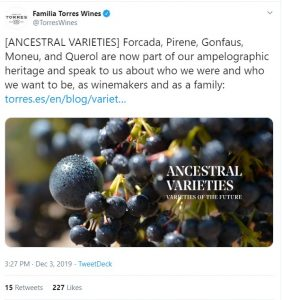screenshot of Torres Twitter