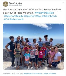 Screenshot from Waterford Twitter