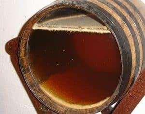 Flor in a barrel