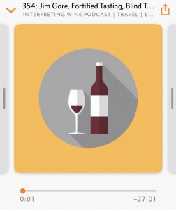 Screenshot of Interpreting Wine
