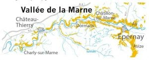 Map from https://maisons-champagne.com/en/appellation/geographical-area/the-marne-valley/