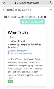 Mobile screenshot from https://virtualwineevents.com/